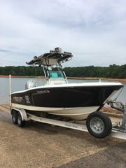 This boat is the one that Devin Hodges, a deputy with