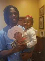 Cam Sims and his daughter Kameryn Faye