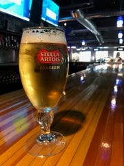 One of the many beers on tap at Rack Scottsdale.