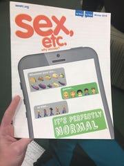 Sex, Etc. magazine has come under fire from parents