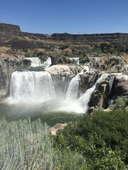 Kevin Harrison and his wife, Lynda, recently visited Shoshone Falls in Idaho.