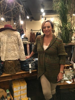 Pam Burton, co-owner of the Coral Sash in South Lyon, is looking forward to Ladies Night Out.
