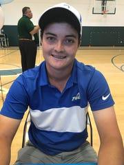 Golfer Chase Bigham signed with Florida Gulf Coast.