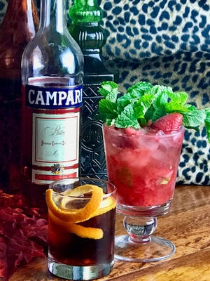 Looking for an unusual, but refreshing Campari cocktail? Try the classic Negroni or a lighter, sweeter Rosso Berry Fizz.