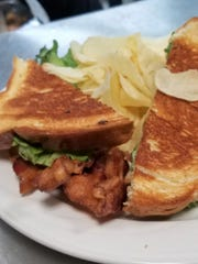 You can't have too much bacon, so try a BLT sandwich at The Pie Pan.
