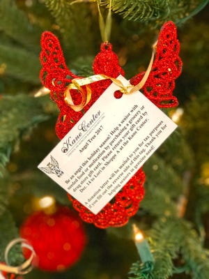 Visit the Council on Aging of Martin County's Christmas Tree Angels tree at the Kane Center on Salerno Road in Stuart. Take an ornament (or two!) off the tree and return wrapped gifts to the Kane Center by Dec. 14.