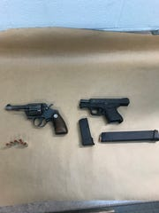 Weapons used during an incident Thanksgiving Day in New City
