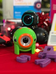 Dot is a tiny robot with a quirky personality and array