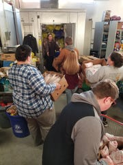 The Branchburg Beef, Dairy and Livestock 4-H Club recently donated fresh pork to the Food Bank Network of Somerset County. The 4-H members loaded the meat off the truck and into the Food Bank's freezers.