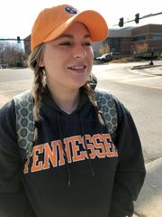 UTK student Hannah Crawford talks about the news that AD John Currie had been fired Friday, Dec. 1, 2017.