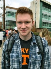 UTK student Jacob Binkley talks about the news that AD John Currie had been fired Friday, Dec. 1, 2017.