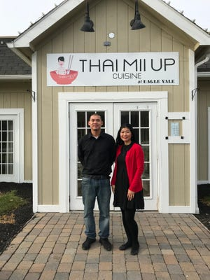 Brother-and-sister team Sean and Linda Phiethep are among the family members who run Thai Mii Up.