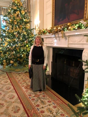 Christmas decorations at the White House.