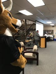 Tim Gillen directs the West Milford High School Athletic Hall of Fame's voting committee to select the Class of 2018 on Dec. 13, 2017.