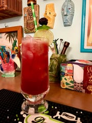 Cesar's Punch is a festive cocktail that's perfect for a tropical holiday celebration.