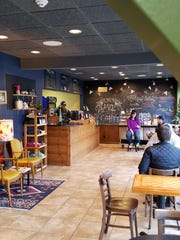 White Swan Coffee Lab inside Wired is a comfortable