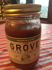 Grove Salsa comes from a jar, but it tastes really fresh.