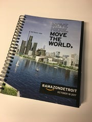 Detroit's 242-page bid book for the Amazon headquarters