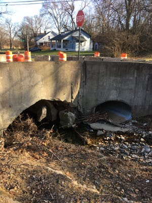 Wyoming will address the failure of the bridge at the end of Maple at Vale Avenue in 2018.