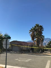 Desert Hot Springs policeshot and killed a man late Tuesday after responding to a domestic violence call in the Miracle Hill and Hacienda area.