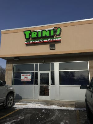 Trini's East Mexican Grill has closed at 4520 Griswold Road, Kimball Township.