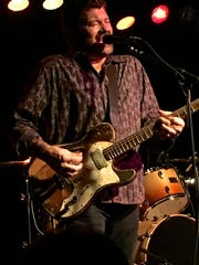 Blues musician Tab Benoit brought blues to The Haunt on March 2.