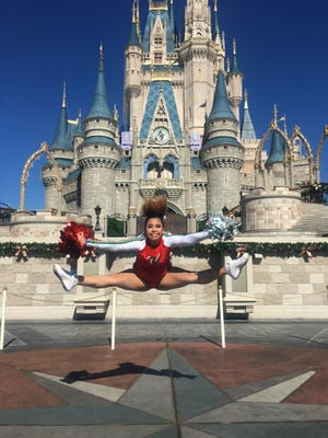 Appleton West senior Hannah-Rose Skibba competed in the third annual Varsity Spirit Spectacular at the Walt Disney World Resort.