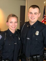 Port Huron Police Officers Samantha Husketh and Brandon Pomranke were among the recent additional hires afforded to the police department.