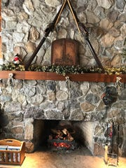 The High Point Cross-Country Ski Center has a cozy