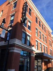 The Hotel V is at 305 E. Walnut St.