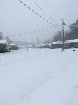 West Tennessee experienced ice and snow Friday, Jan. 12, 2018. Here are a few of our reader submitted photos via Facebook and Twitter.
