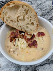 This potato soup is perfect for these frigid winter