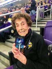 Millie Wall, 99, plans on attending the Super Bowl