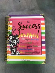 "This colorful and motivational journal will make ""success"""