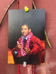 Enrique Sosa, de 14 años, murió después de que le dispararon mientras caminaba por la calle Russell a principios de este año.