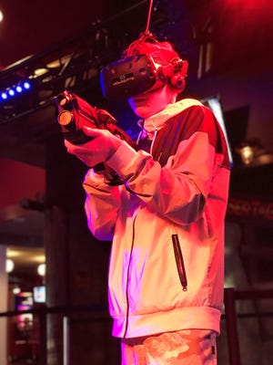 Andy B's is bringing the first virtual reality gaming attraction to the region.