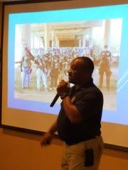 Derrick Franklin, of the Abilene Police Department,
