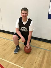 Iola-Scandinavia senior Connor Drath has shown a willingness