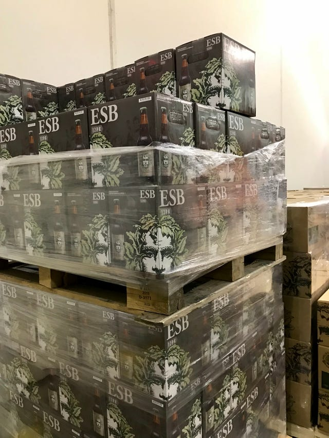 Wnc Knocks Down 15000 Cases Of Beer A Day
