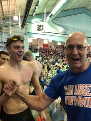 San Angelo Central High School head swimming coach