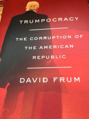 "Cover of ""Trumpocracy: The Corruption of the American Republic,"" by David Frum."