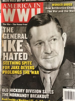York's General Jacob Devers is on the cover of the current issue of America in WWII magazine.