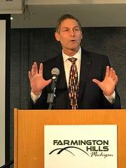 Farmington Public Schools Superintendent George Heitsch talks about various aspects of the district.