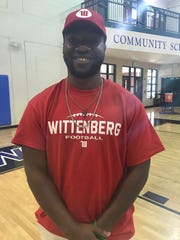 Community School of Naples' Isreal Anis signed with Wittenberg.