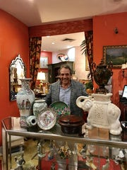 Local businessman Paul Shine, owner of True Treasures