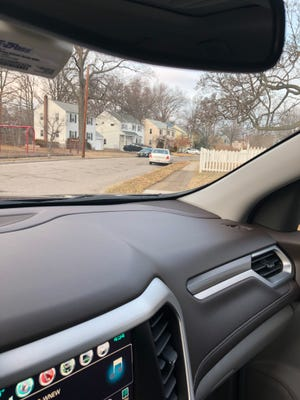 Suspect car parked outside house on Springdale Court