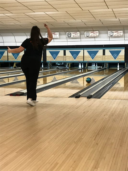 North Union bowler Allyia Nicol