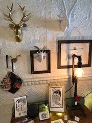 Art and other items for sale at the newly opened Lagom.