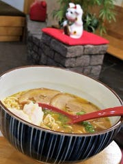 Miso ramen from Iwataya is a savory masterpiece. The