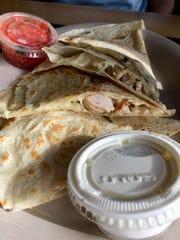 The classic quesadilla at California Tortilla wasn't